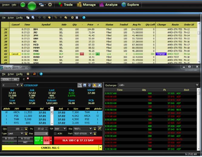 Wex Trading Platform